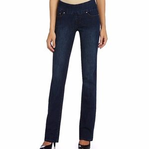 Jag Jeans Pull-on High Rise Bootleg
